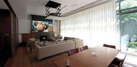Living Room Tv Or Projector Living Rooms Osbee