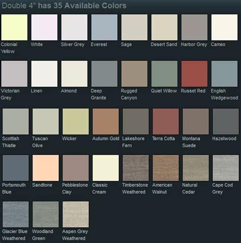 mastic siding color chart 25 best mastic siding ideas on mastic vinyl