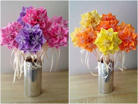 Diy Origami Bouquet - diy bouquet de fleurs en origami