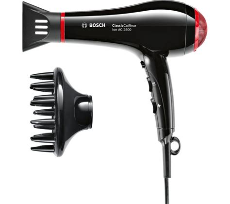 Bosch Hair Dryer Singapore buy bosch classiccoiffeur hair dryer black free delivery currys