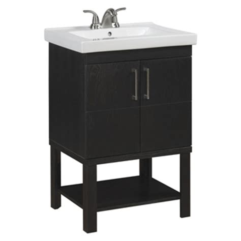 allen roth wall mount brown bathroom vanity common      actual
