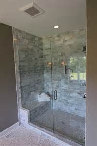 bathroom large walk in shower for guest bath house