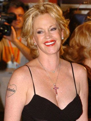 melanie griffith tattoos all star tattoos