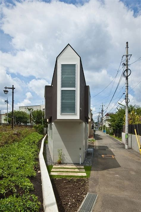 narrow homes narrow house in horinouchi by mizuishi architect atelier