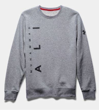 Sweater Armour Muhammad Ali K21 armour x muhammad ali rival fleece he ll gear up like the great one in signature style