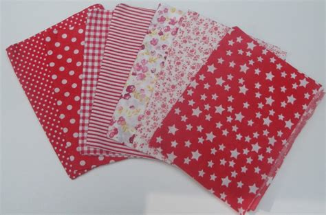 creartica lot de 7 coupons tissus patchwork 50cm 50cm