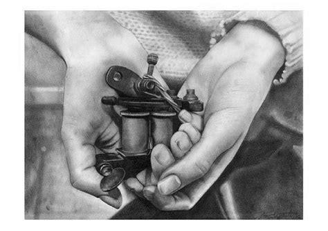 tattoo hand machine hands holding tattoo gun drawing tattoo machines