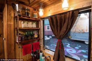 tiny house hotel near me inside america s first tiny house hotel daily mail online