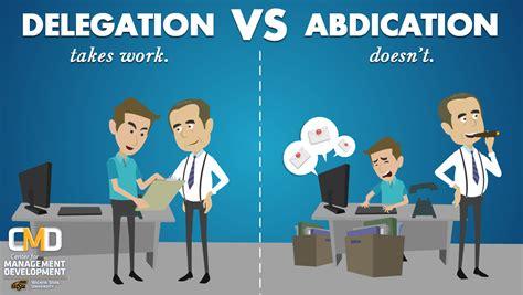 Ms In Operations Management Vs Mba Reddit by Hackett In Management Delegation Vs Dumping