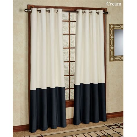 block curtains color block drapes 28 images accolade color block