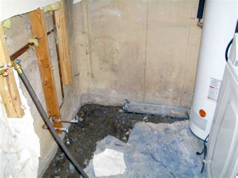 stops leaks inside basement waterproofing systems