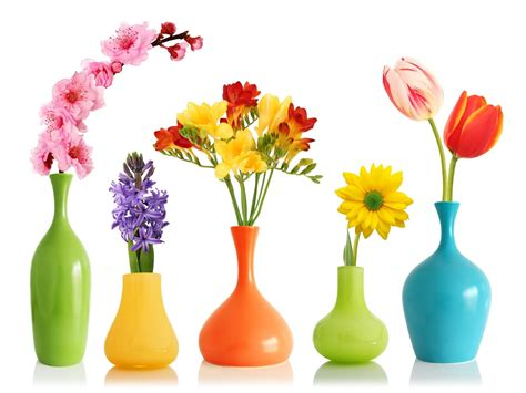 Flowers In Vases by Flower Vase 12 In Decors