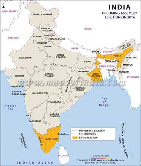 Buy Calendar 2016 India Assembly Vidhan Sabha Elections 2016 Constituencies