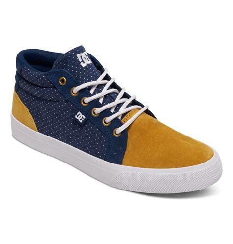 Dc Council Mid Le s council se mid top shoes adys300076 dc shoes