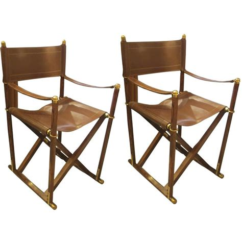 Director Chairs For Sale by Pair Of Rosewood And Leather Director Chairs For