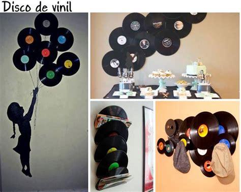 como decorar o quarto disco de vinil disco de vinil decora 231 227 o vinil pinterest quadros