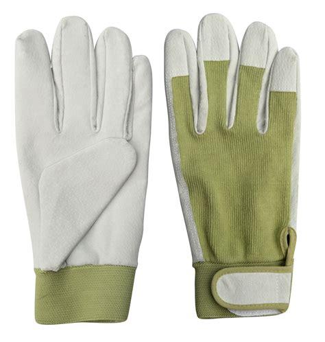 Garden Gloves by Worth Garden 6131 Spandex Leather Garden Gloves
