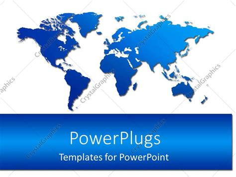 powerpoint template the map 31798