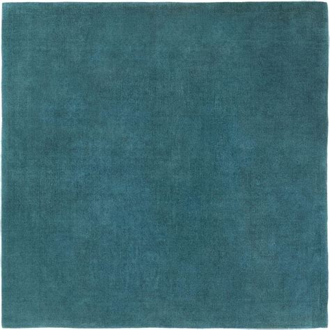 Teal Square Rug Artistic Weavers Falmouth Teal 8 Ft X 8 Ft Square Indoor