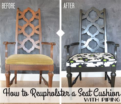 reupholster seat cushion with piping seat cushion pieces and sewing wills casawills casa