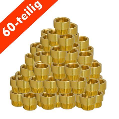 La Paket 1 Set Shoo messing gewindefitting hahnverl 228 ngerungs paket 1 2 60