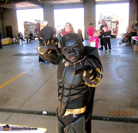 black panther costume  boys
