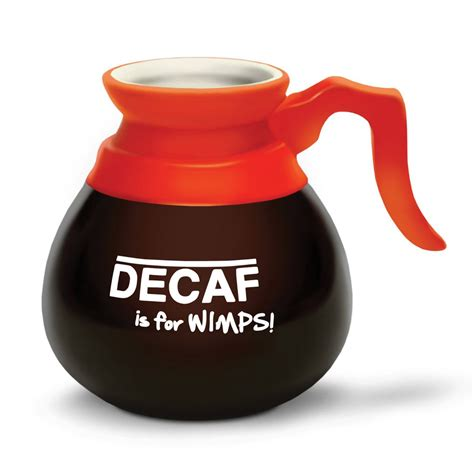 Cool Coffe Mugs decaf is for wimps coffee pot mug the green head