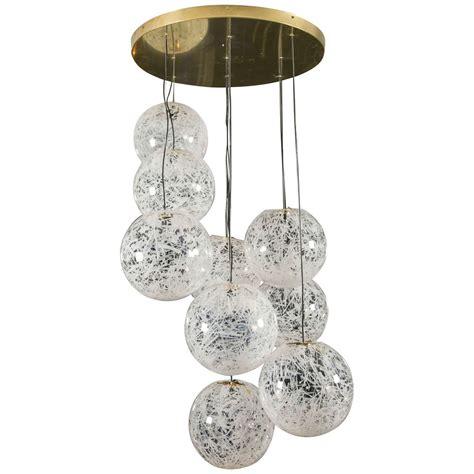 Globe Lighting Chandelier Nine Globe Chandelier At 1stdibs