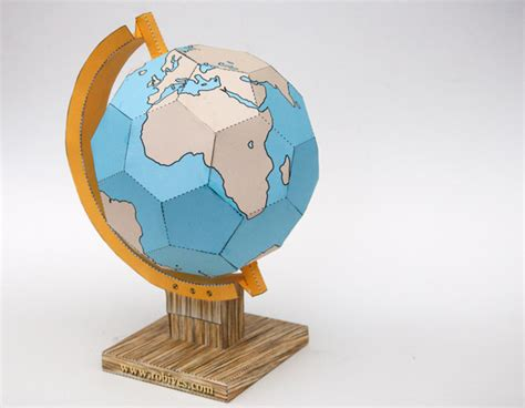 How To Make A Paper Globe - hello wonderful 9 creative globes to make for earth day