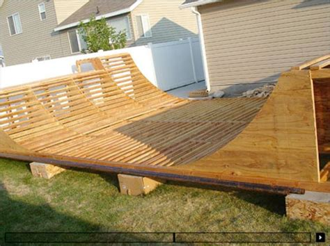 backyard half pipe how to build a halfpipe making the correct halfpipe