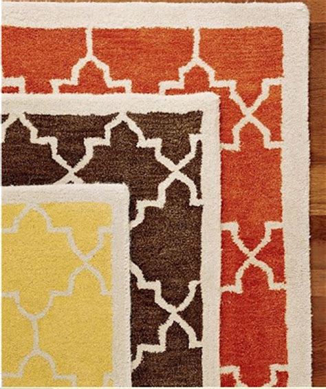 Dose Of Design Love It Moorish Rugs Pottery Barn Moorish Tile Rug