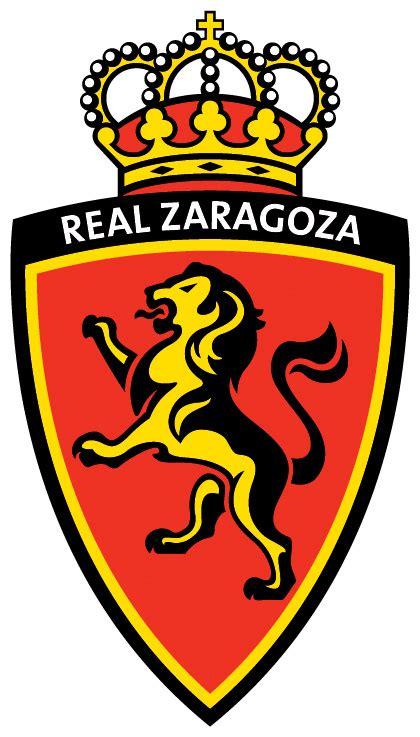 logo klub sepakbola real zaragoza liga spanyol kumpulan