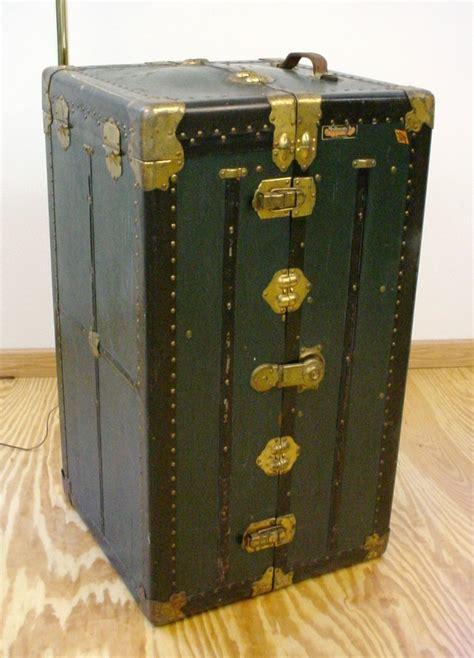 Antique Wardrobe Steamer Trunk Value by Antique Multnomah Wardrobe Steamer Trunk