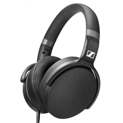 Headset Black Apple sennheiser hd 4 30i headset for apple ios black hd 4 30i blk mwave au