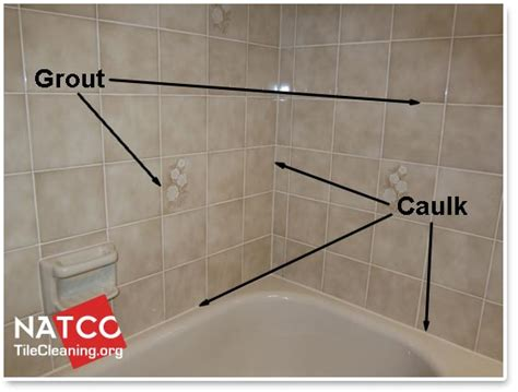 grout bathroom where should grout and caulk be installed in a tile shower