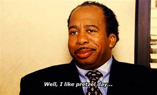 Pretzel Day The Office by Pretzel Day On