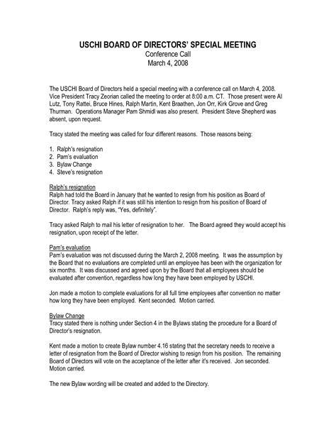 Business Letter Format Board Of Directors letter format of list of directors letters free sle