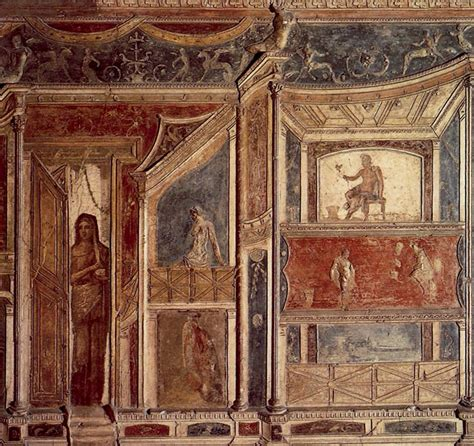 pisana cornici straordinaria pittura romana capire gli stili di duemila