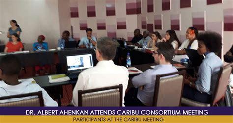 Mba Gh Policy Debate by Dr Albert Ahenkan Attends Caribu Consortium Meeting
