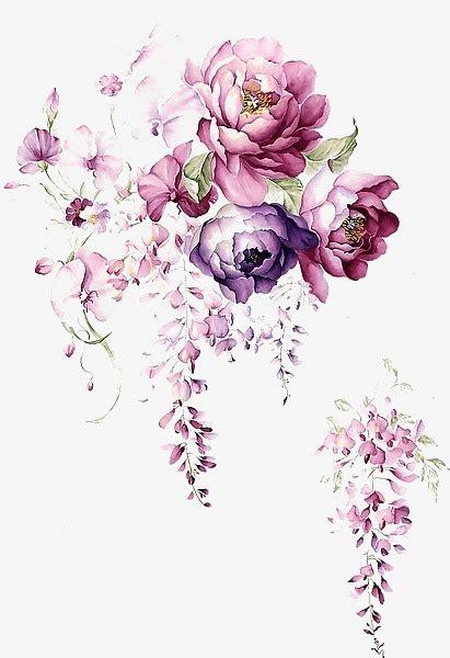 flower design video download watercolor ink flower watercolor ink flower art png and