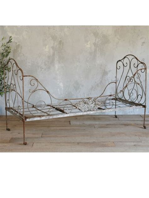 iron day bed antique french iron daybed playhouse outdoor pinterest