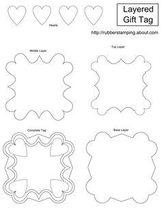 Tag Template Tags And Patterns Pinterest Make Your Own Will Free Template