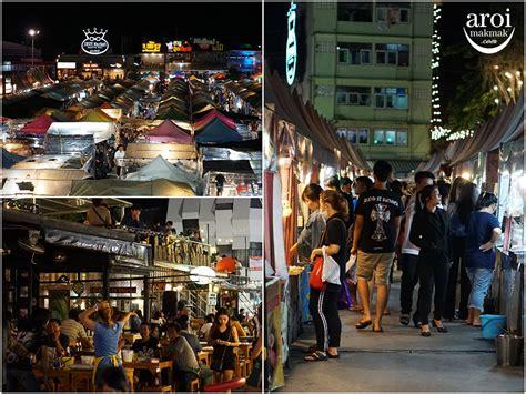 night markets  bangkok  aroimakmak