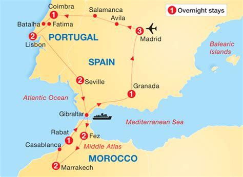 spain and portugal map map of spain and morocco so helpful