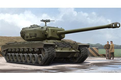 Just released: Trumpeter T29 heavy US tank in 1/35 ... T 34 American