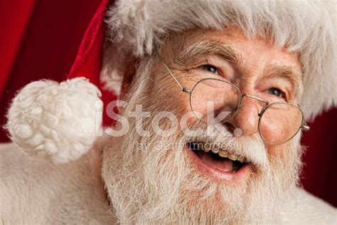 pictures of real santa claus portrait stock photos