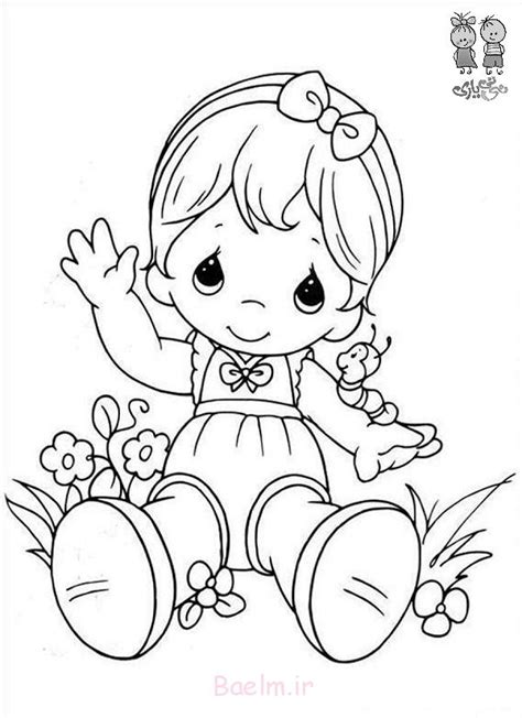 Free Coloring Pages Of Cute Precious Moments Precious Moments Baby Coloring Pages Free
