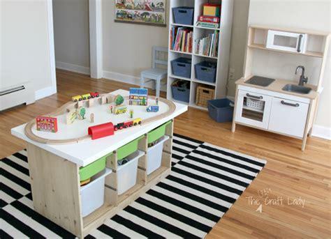 playroom table with storage ikea hack playroom table ikea hacks the best of