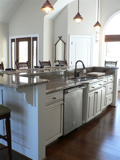 dishwasher in island traditional kitchen other metro traditional kitchen island traditional kitchen dc