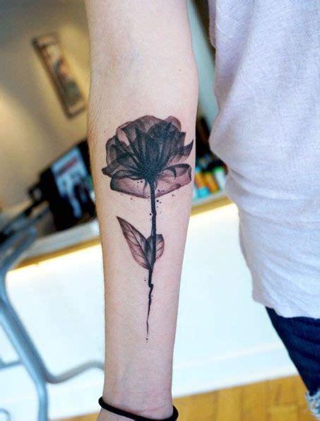 rose feather tattoo best 25 black flower tattoos ideas on henna